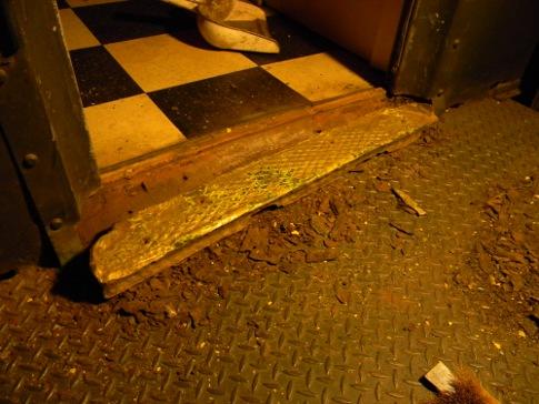 Door plate found