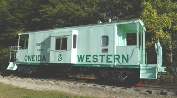 The Green Caboose