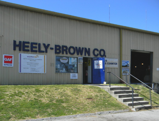 Heely Brown Company Knoxville Tn.