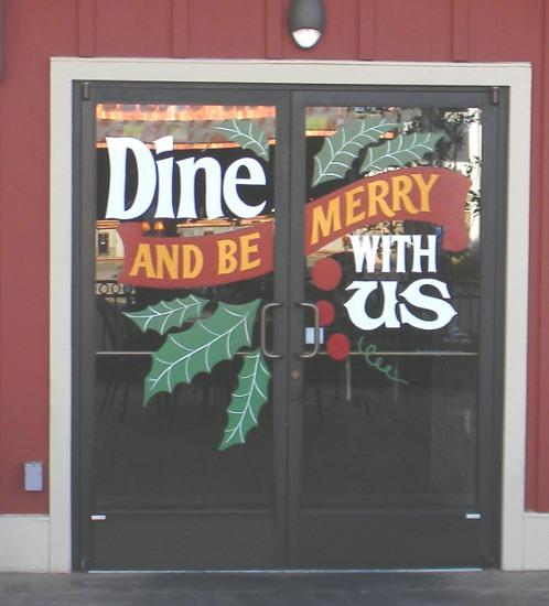 Restaurant doors 2