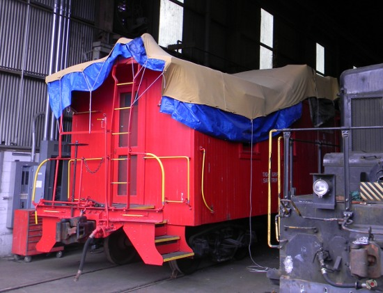 Covered Caboose