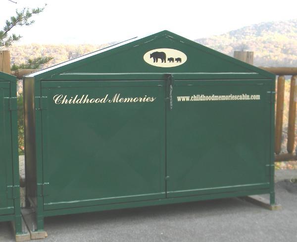 Cabin rental information.
