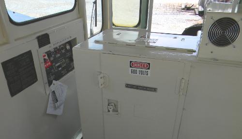 Cab interior 1