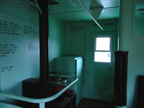 OWTX Caboose interior 2