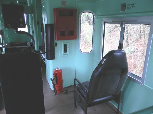 OWTX Caboose interior 4