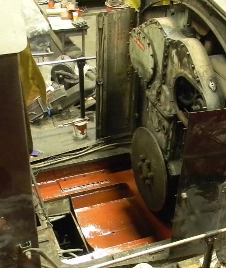 Generator mounting area
